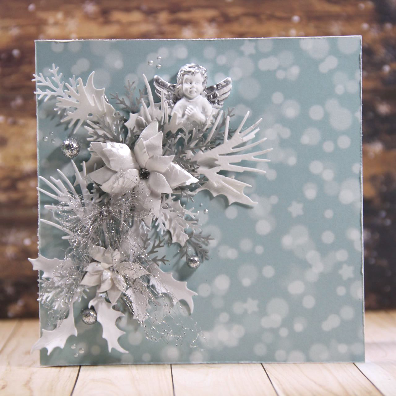 shabby chic christmas cards