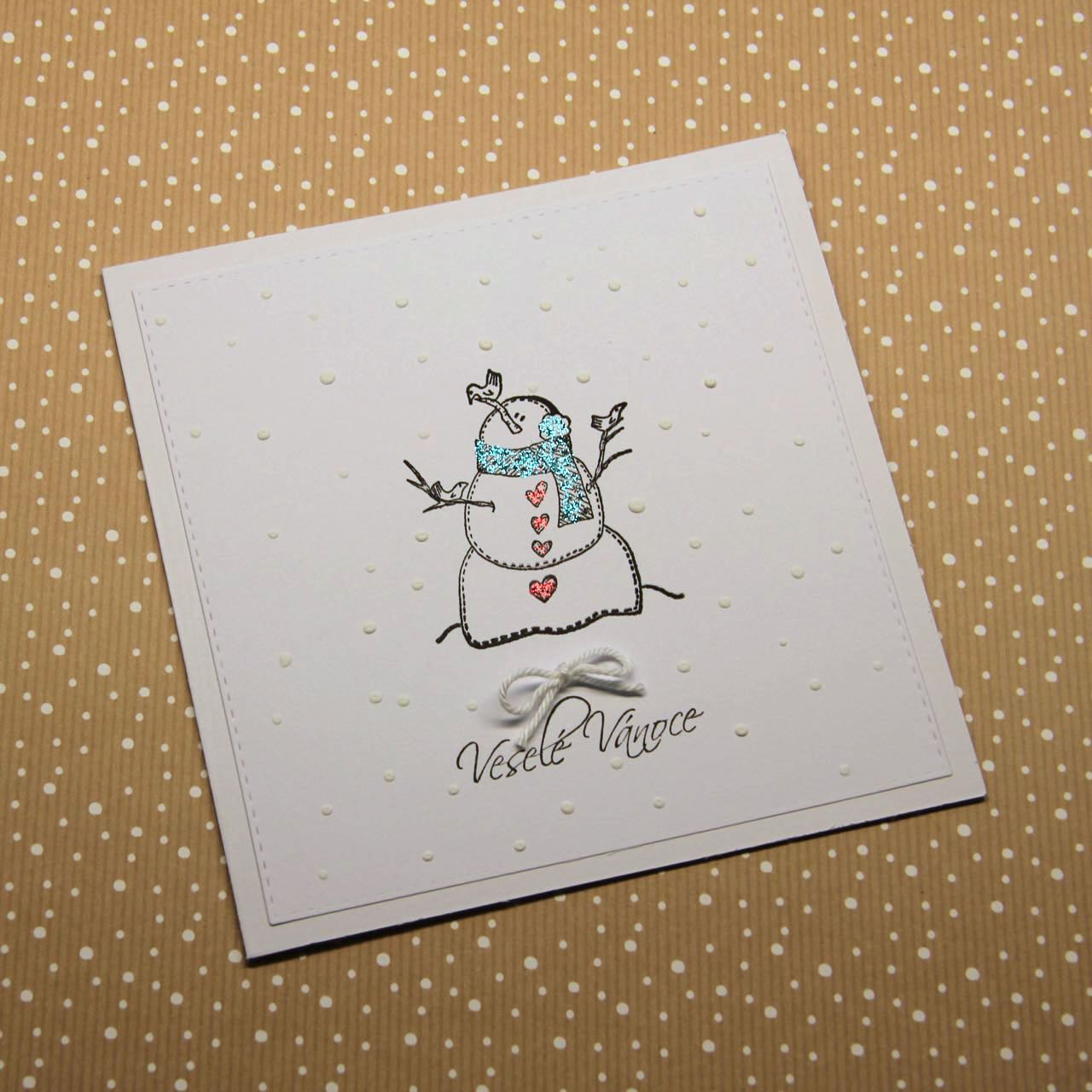 Clean and Simple Christmas cards | Kate Crafts